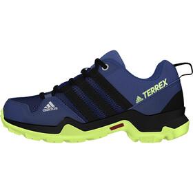 adidas TERREX AX2R Hiking Shoes Lightweight Kids, collegiate navy/core black/signal green